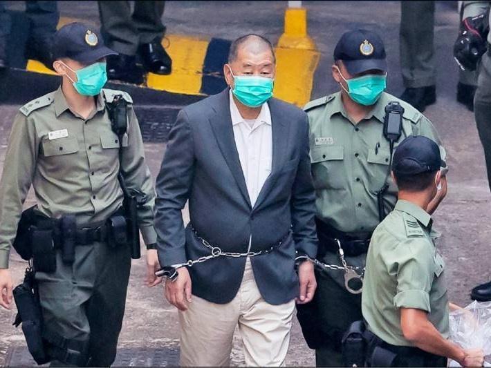 黎智英涉勾结外力危害国安案今提堂,最高可判终身监禁