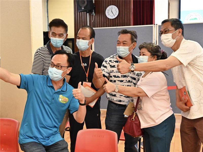 200名沙头角香港居民接种科兴疫苗