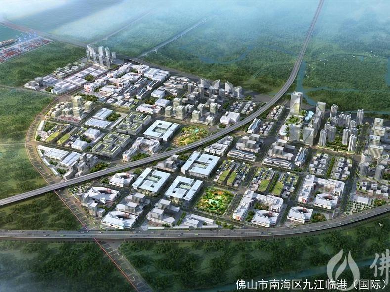 佛山九江临港国际产业社区:土地整合开发破除产业散乱低效窘境