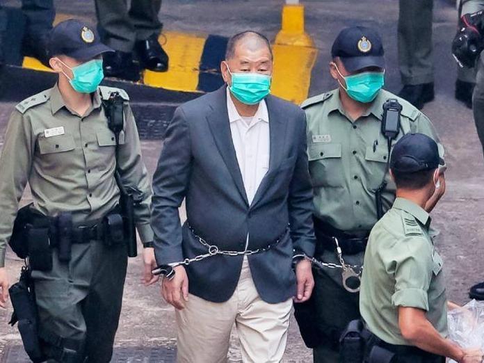 黎智英涉嫌违反香港国安法案押后至下月再审