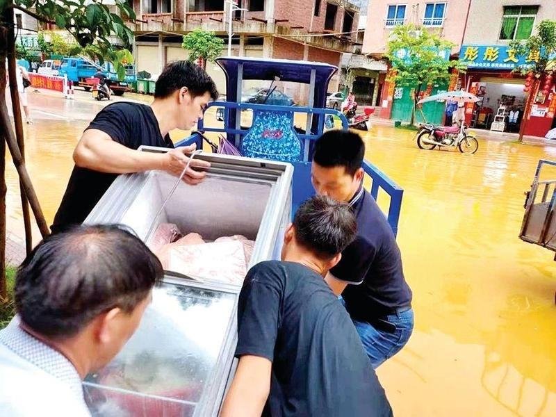 惠州多地出现极端强降水过程 全市安全转移2200多人
