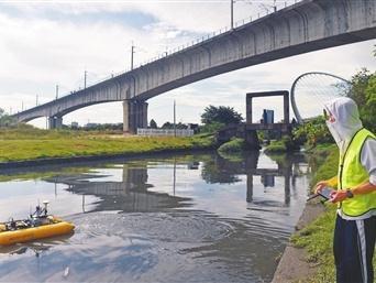 一部手机可监测水质 中山市建成259个河涌水质自动监测设施