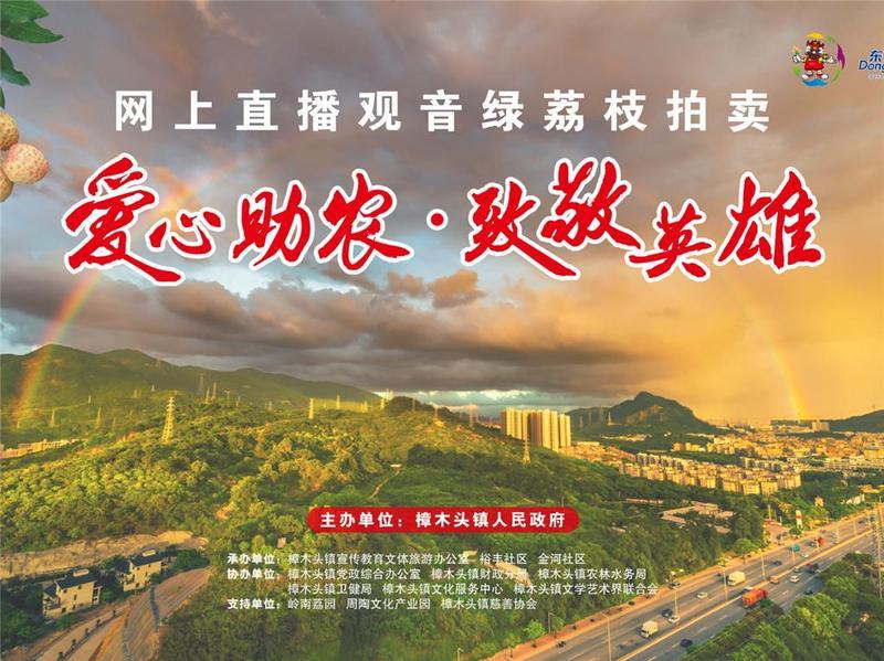 6月18日:相约东莞市樟木头镇品尝观音绿荔枝