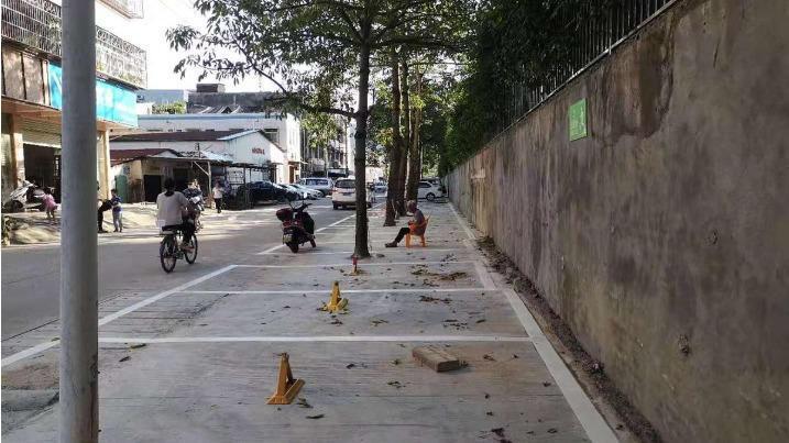 车位多了,环境靓了!珠海市香洲区南屏镇广昌社区新翠路环境整治提升工程完工