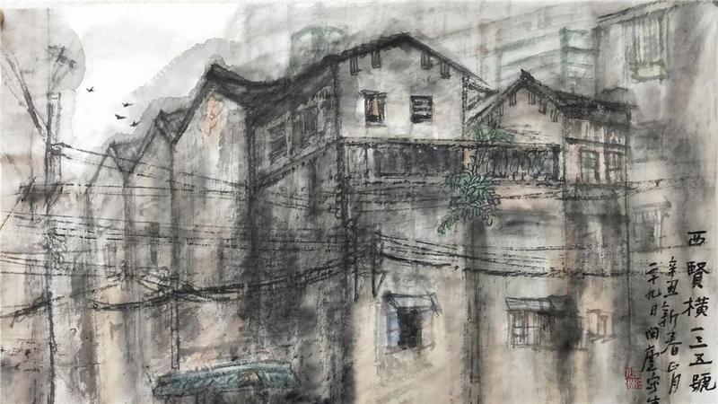佛山市禅城区文艺工作者各显本领,笔尖绘尽百年城市变迁