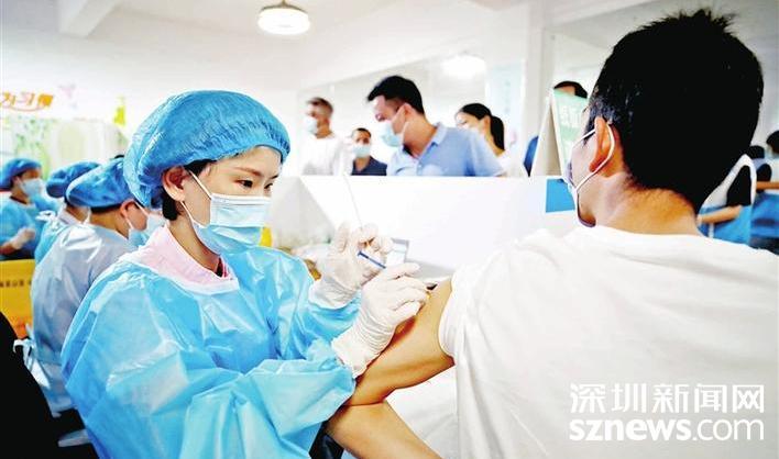 光明新冠疫苗充足 请及时预约第二针