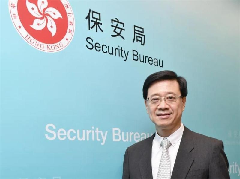 独家   保安局局长李家超接受香港商报专访,睇下他说了什么