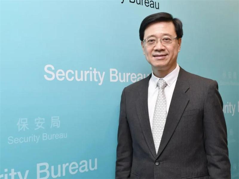 【独家】保安局局长李家超接受香港商报专访,睇下他说了什么