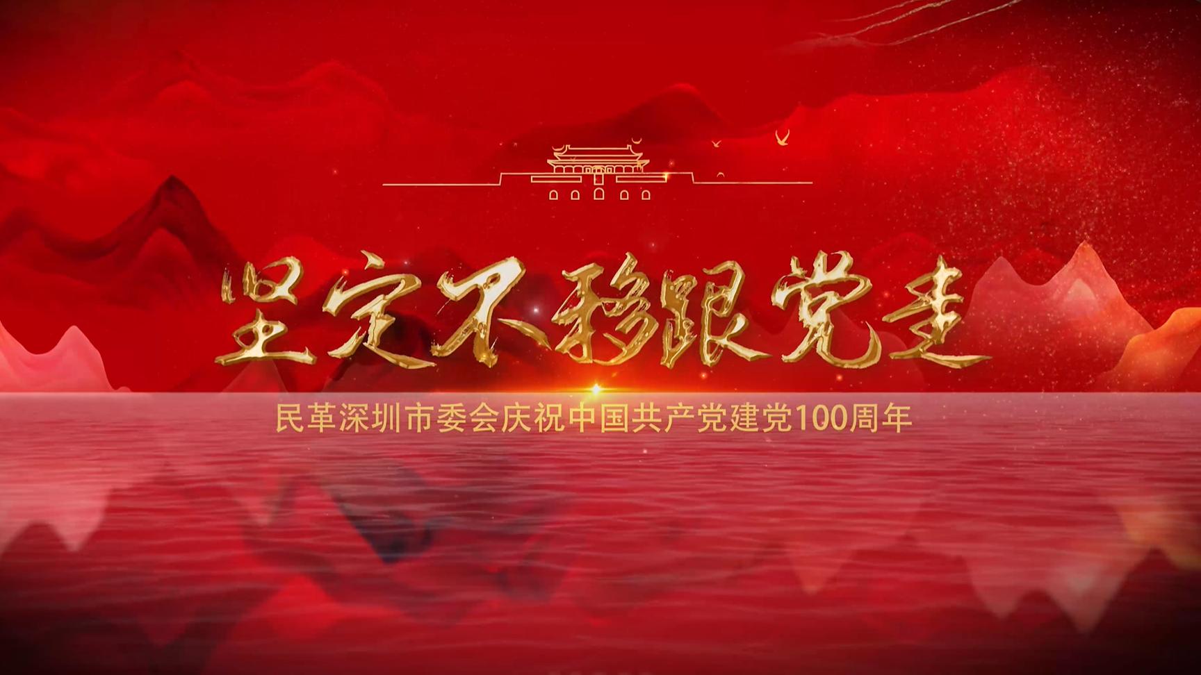 民革深圳市委会献礼建党百年