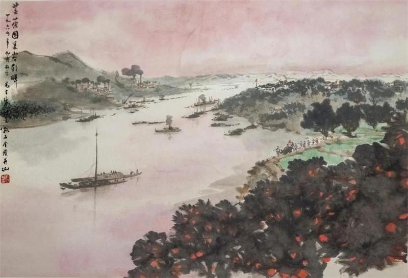 """看展   从苦瓜诗意到山河新貌,"""" 和美术馆藏中国近现代作品展""""与你相约"""