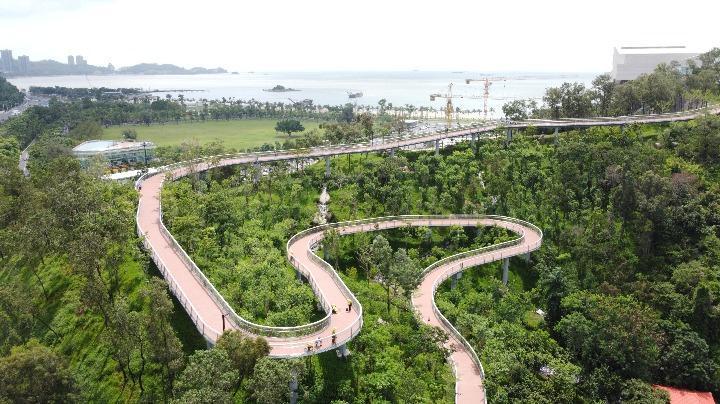 360°观山、海、城美景!香山云道鸡公山段明日开放!