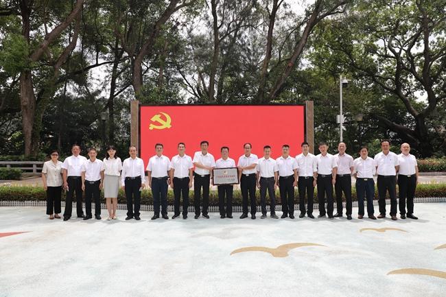 葵涌党工委获评广东省先进基层党组织荣誉称号