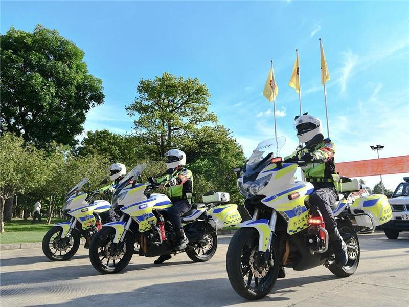 广东交警:7种轻微交通违法行为免于处罚