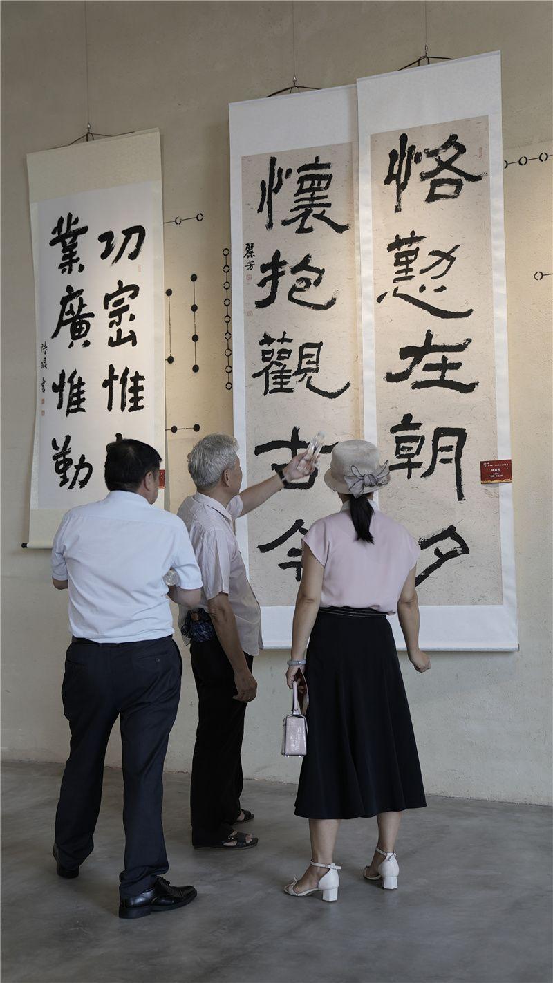 中山首届榜书展开幕,展览将持续至8月3日