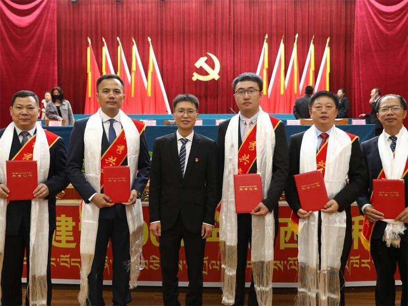 """雪域高原授勋章 5名珠海援藏干部获评""""优秀共产党员"""""""