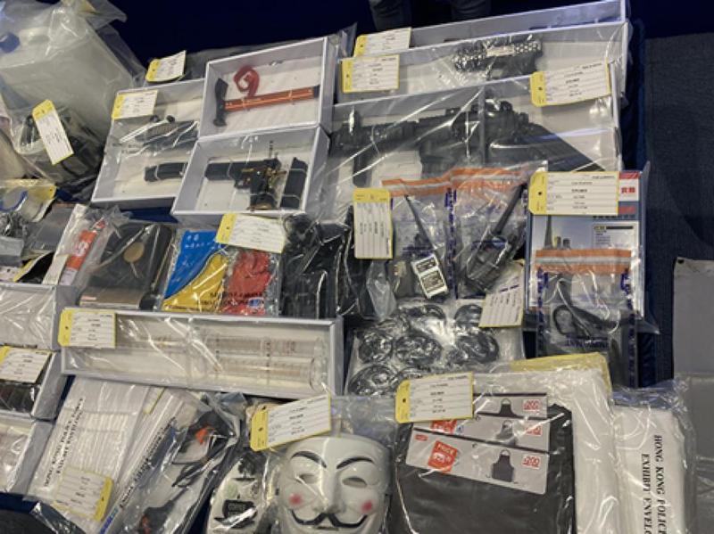 警方国安处拘9男女涉嫌制造TATP炸弹谋恐袭