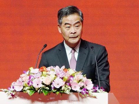 梁振英:香港应抓紧大湾区黄金机遇