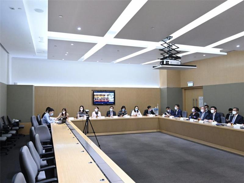 """支持香港全面参与和助力""""一带一路""""建设联席会议第四次会议召开"""