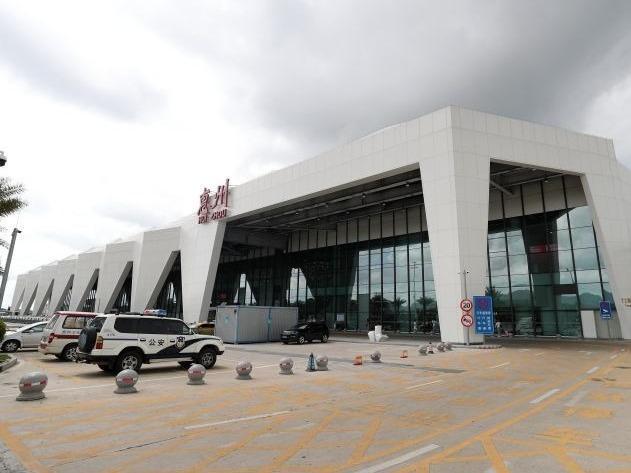 """惠州机场正迈向""""千万级"""""""