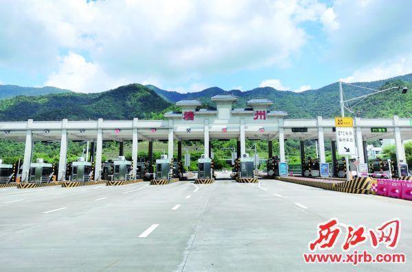 广佛肇高速沿线收费站入口恢复货车通行