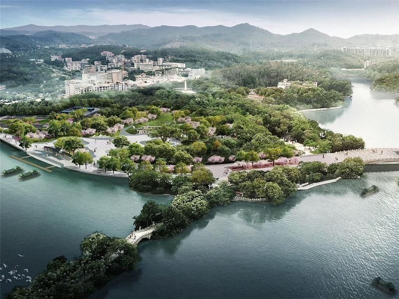 拆除老旧建筑还湖于民,惠州西湖有望重现五湖相连景象