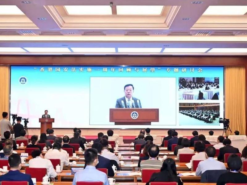 夏宝龙:事实雄辩证明国安法是保香港安全、安定、安宁之法