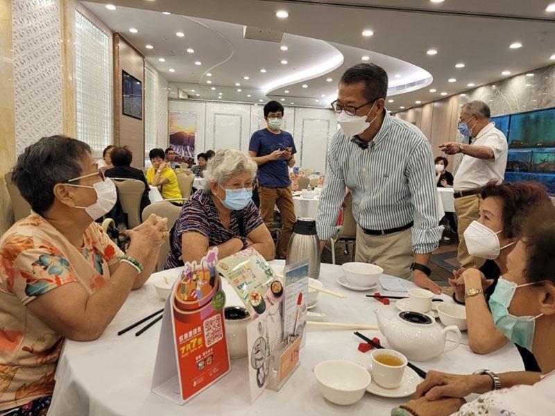 香港财政司司长陈茂波:逾610万人已登记电子消费券