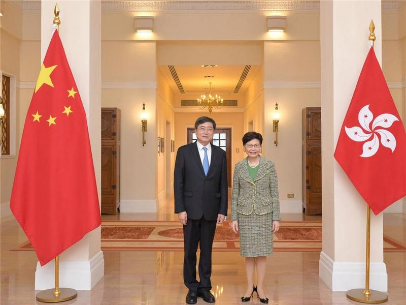 林郑月娥与国家文化和旅游部副部长会面 期望重新推动跨境旅游