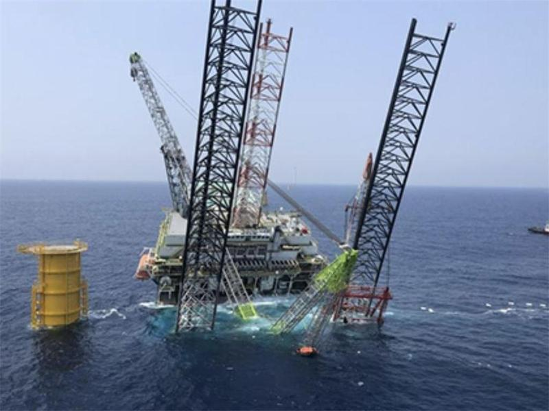 惠州一海上施工平台倾斜,已安全转移61人