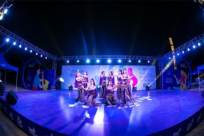 """欢乐海岸""""周末音乐会""""热力开启 文化惠民滋润群众幸福生活"""