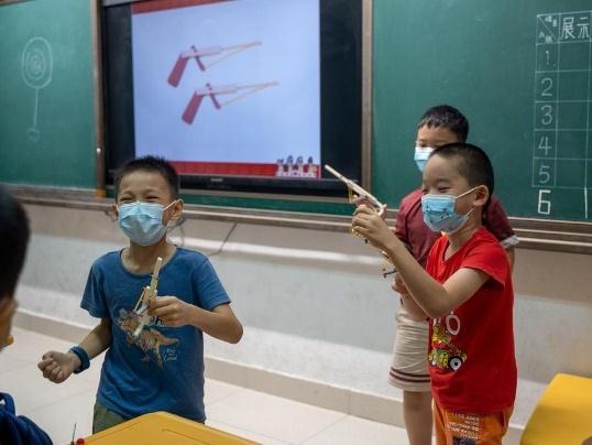 学围棋、拼积木、看红色演出!横琴暑期托管开班啦