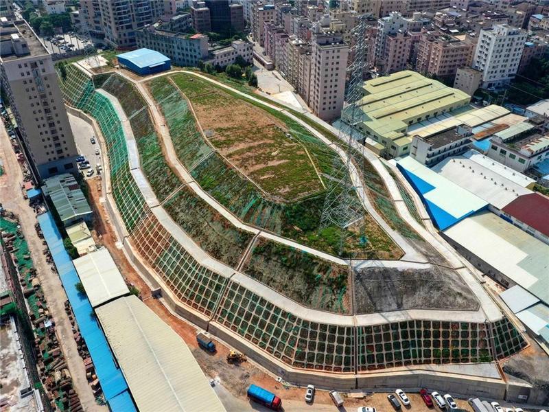 大变身!东莞市长安镇将地质灾害点改建为休闲公园