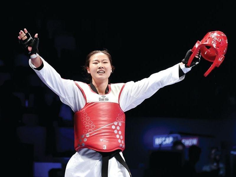 加油!7月26日晚20:30分,惠州运动健儿张梦宇比赛!