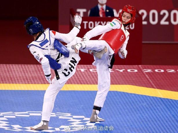 惠州籍运动员张梦宇奥运首秀止步八强