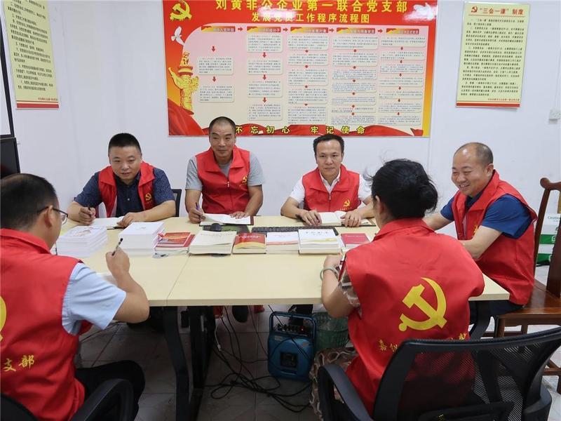 """东莞市茶山镇170多名""""两新""""党员回归组织"""