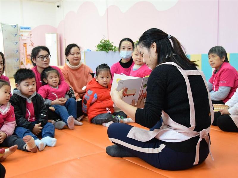 助力儿童早期发展!东莞市塘厦镇神奇亲子园欢声笑语不断