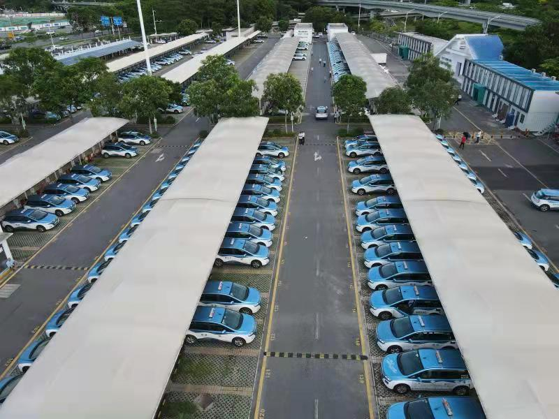 深圳建全球最大汽车充电站,日均服务4000车次