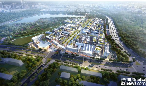光明国际汽车城加速建设 将打造成全市最大新型汽车产城生态综合体