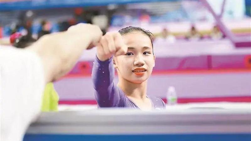东京奥运会中国00后体操小花欧钰珊,小学就读于福田区的这所学校
