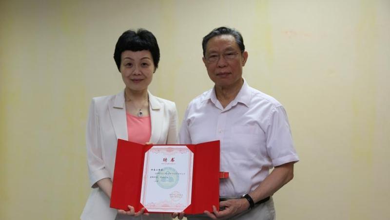 钟南山加盟深圳市人民医院!任呼吸疾病研究所荣誉所长
