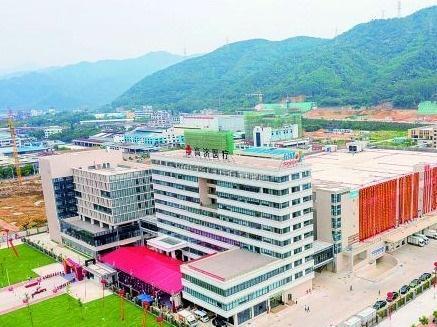 高济医疗·广东邦健综合体在肇庆市端州区俊富产业园落成