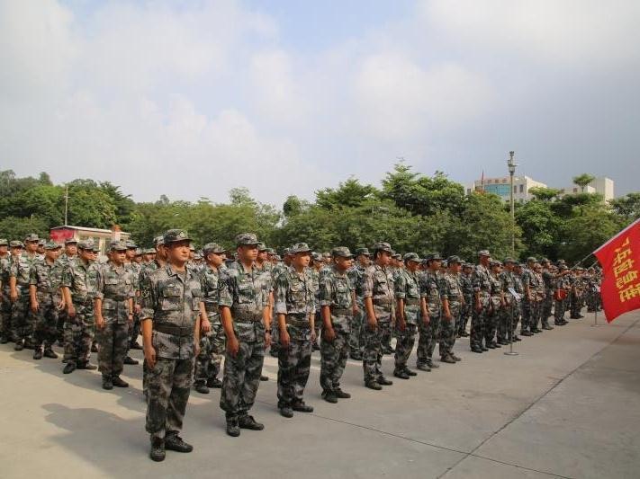 三水区组织民兵应急连集训暨点验,提升救灾技能