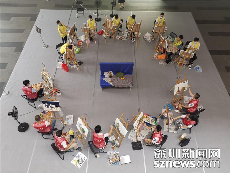第九届绘画职业技能竞赛在大芬落幕  18名选手获奖