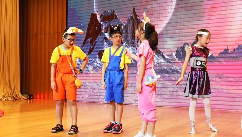 看剧学知识!《红仔的火星梦》儿童科普剧红立方暑期欢乐公演