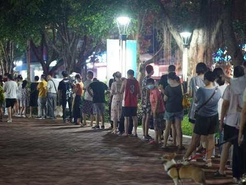 珠海启动全市全员核酸检测,影院娱乐场所等暂停营业