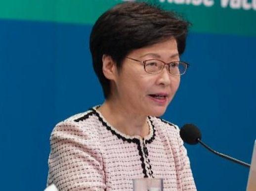 """林郑月娥:""""教协""""骑劫香港教育界,支持教育局与其""""切割"""""""