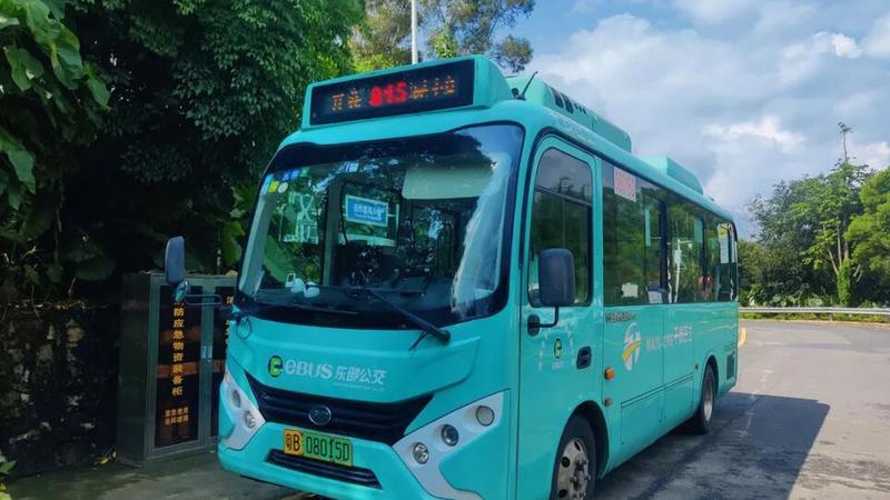 深圳坪山区这个片区居民,终于有公交车坐啦!