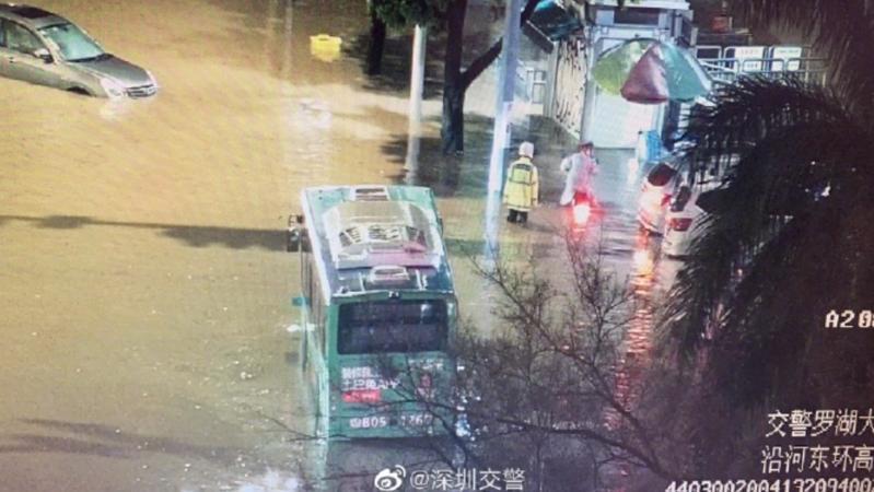 半小时砸下一天的暴雨量,深圳应急处突能力经受考验