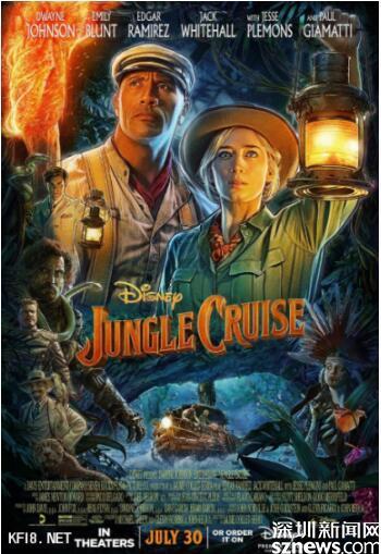 迪士尼新作《丛林巡航》北美上映 凯发乐剧场精彩点评