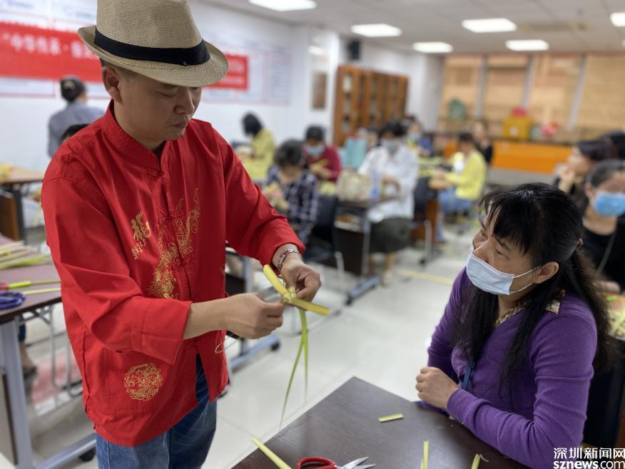 中华传承 指尖技艺 星河街社区举行居民非遗系列艺术学习活动